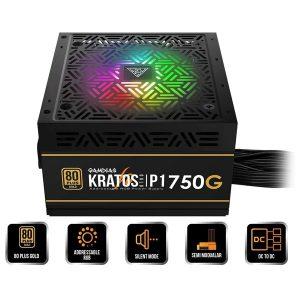 منبع تغذیه کامپیوتر گیم دیاس مدل KRATOS P1 750G