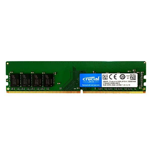 رم دسکتاپ DDR4 تک کاناله 2666 مگاهرتز مدل کروشیال ظرفیت 8 گیگابایت